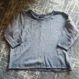 American Eagle Crop Sweatshirt
